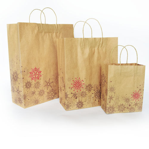 Christmas Paper Shoppers