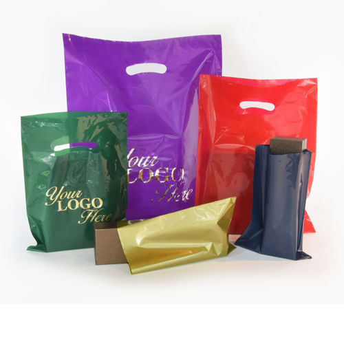Foil Stamped Merchandise Bag
