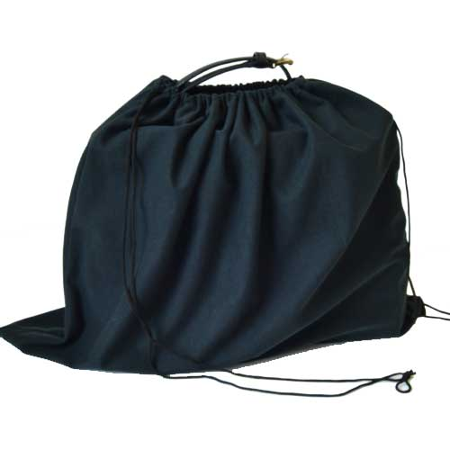 BLACK MICROFIBER DUST BAG