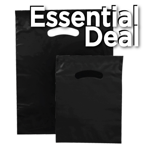 ESSENTIAL POLY MERCH.BG BLK