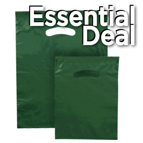 ESSENTIAL POLY MERCH. BAG GRN