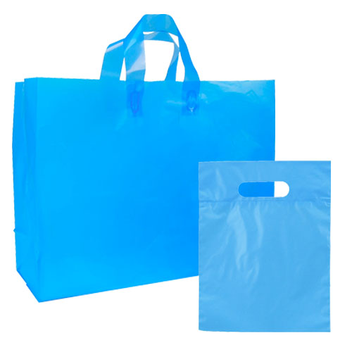 FROSTED BRIGHTS BAG BLUE