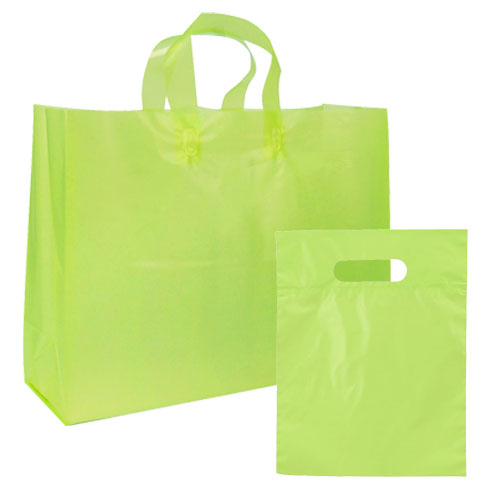 FROSTED BRIGHTS BAG LIME
