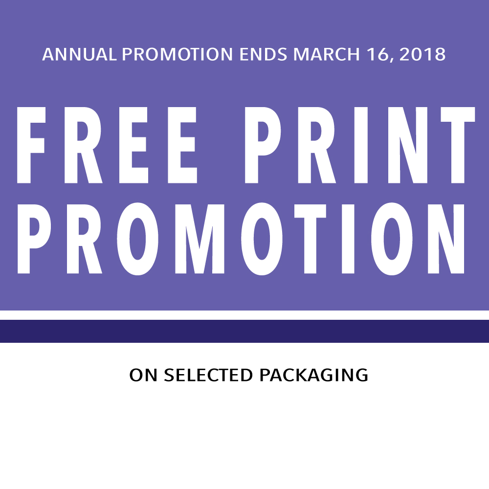 FREE PRINT PROMOTION