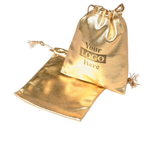 Gold Metallic Pouches