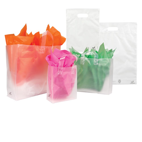 OXO-BIO FROSTED CLEAR BAG