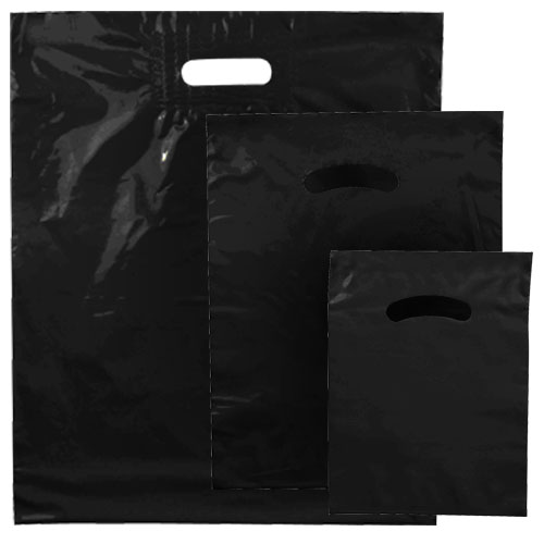 POLY MERCH. BAG BLACK