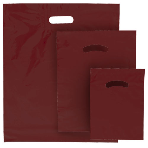 POLY MERCH. BAG BURGUNDY