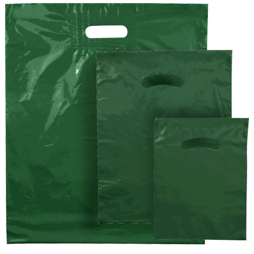 POLY MERCH. BAG GREEN