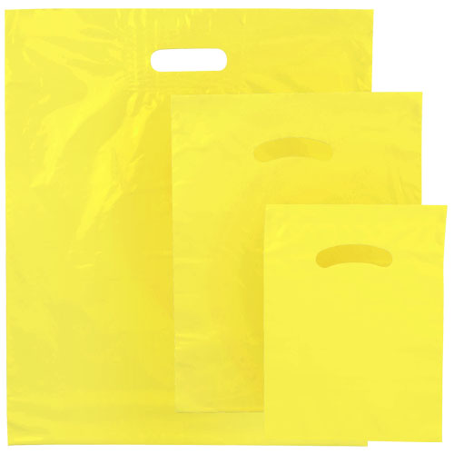 POLY MERCH. BAG YELLOW
