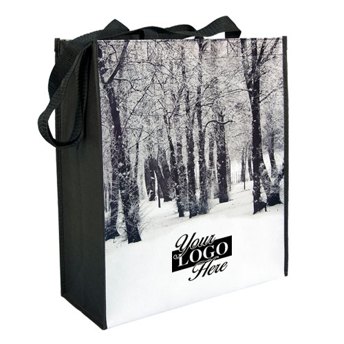 WINTER FOREST NON-WOVEN BAG
